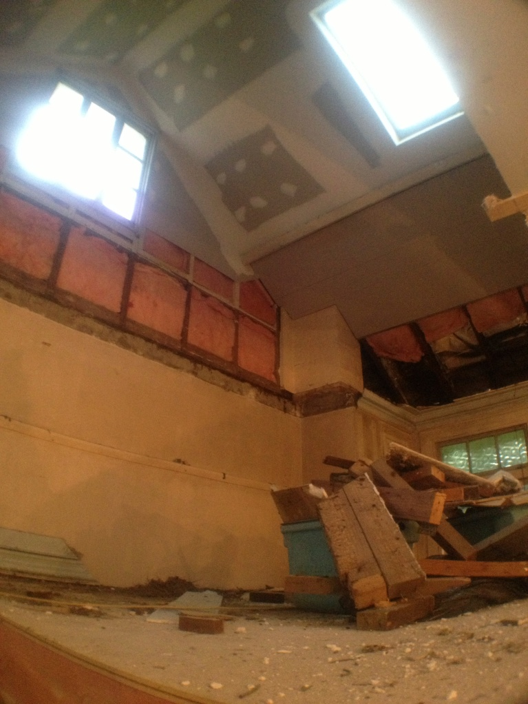 No.84 - Stage 3 of mezzanine.